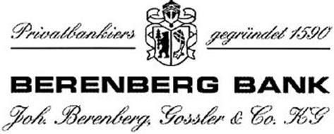 berenberg bank privatbankiers gegr 220 ndet 1590 berenberg bank joh