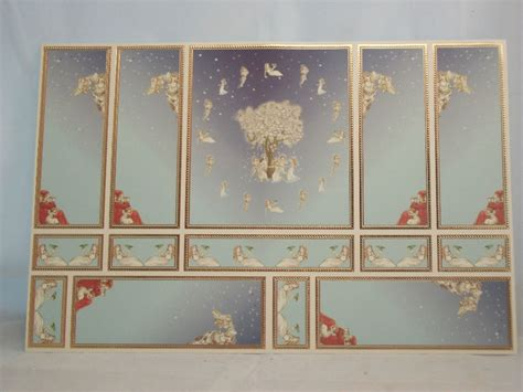 gold wallpaper panels world model relief 34801 wallpaper panels dollhouse 1p 1