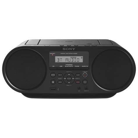best portable boombox sony zs rs60bt bluetooth portable boombox black