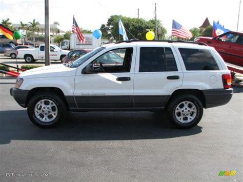 jeep laredo white stone white 2001 jeep grand cherokee laredo 4x4 exterior