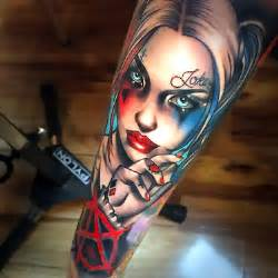 99 best tattoo ideas for men harley quinn tattoo