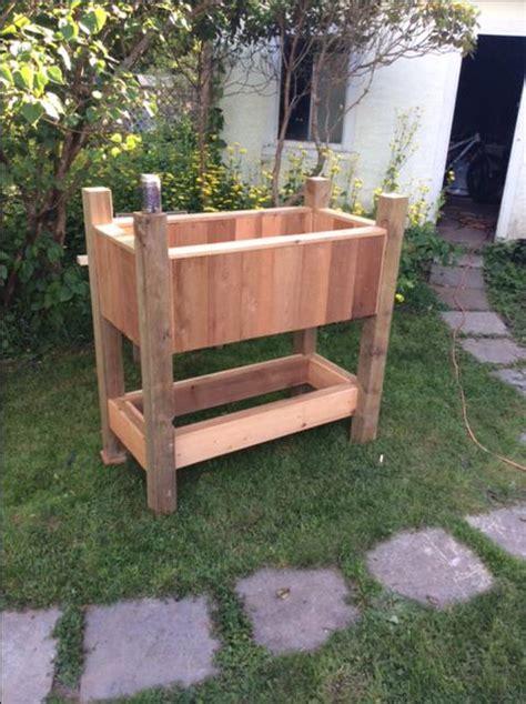 standing garden beds standing garden beds 28 images unavailable listing on etsy cedar planter box