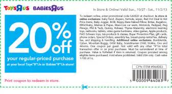 Mommy on the money 20 off toys r us printable coupon