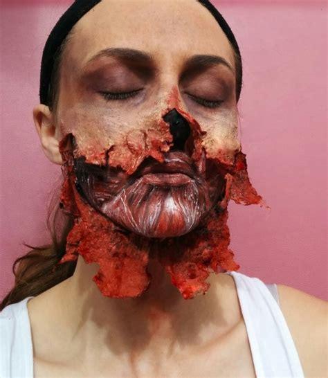 zombie tutorial liquid latex horror makeup on tumblr