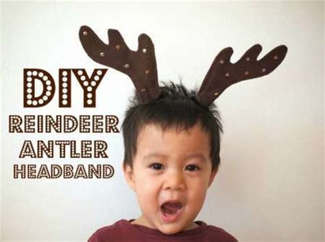 printable reindeer headband diy reindeer antler headband horns crafts and reindeer