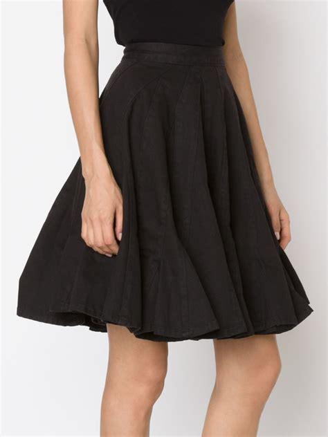 Godet Skirt lyst by sibling godet skirt in black
