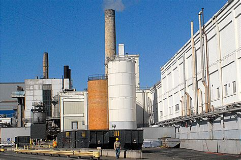 nippon paper mill cogeneration plant in port angeles for