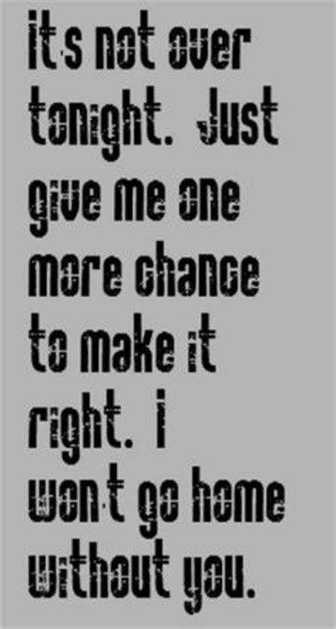 maroon 5 i won t go home without you song lyrics
