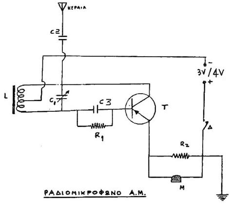 simple 1 transistor fm transmitter simple low power am transmitter by christos z konstas low power radio repository