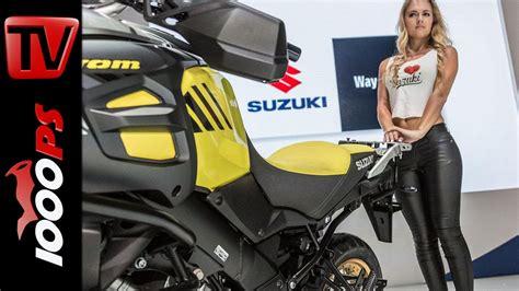 Suzuki Motorrad Neuheiten 2017 by Video Suzuki Neuheiten 2017 Weltpremiere