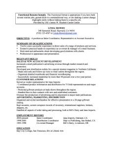 stupendous chronological resume sles functional resume definition format layout 60 exles