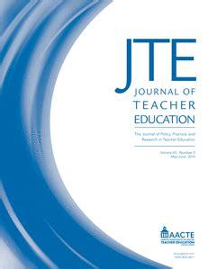 design technology education journal journal of teacher education