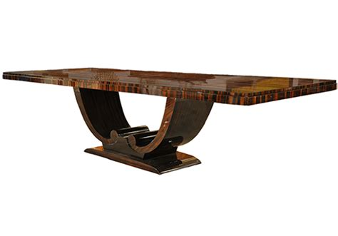 palisander art deco dining table j tribble