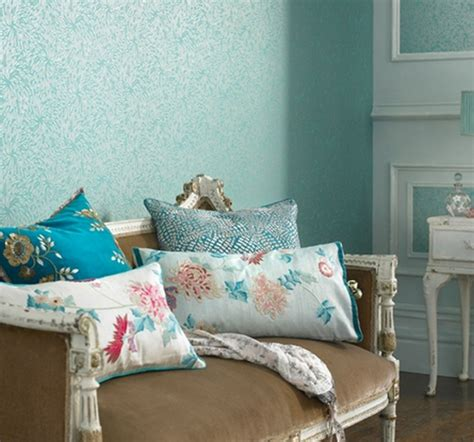 turquoise bedroom wallpaper colour trend turquoise style at home