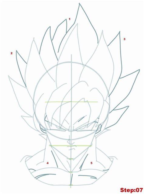 Drawing Goku by Best 25 How To Draw Goku Ideas On Goku