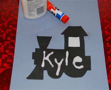 polar express crafts for name trains for preschool and kindergarten the