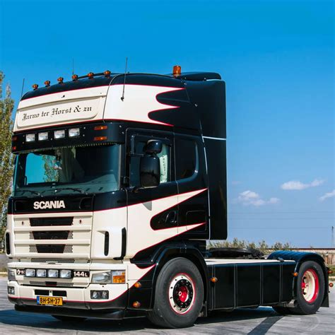 scania 4 series brief about model