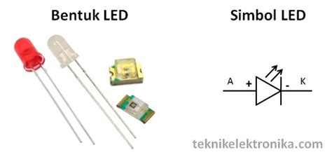 Led Komponen pengertian led light emitting diode dan cara kerja led