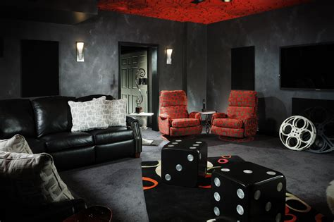 Media Room Decor Magnificient Media Rooms Decorating Den Interiors