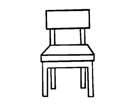 silla dibujo dibujo de una silla de comedor para colorear dibujos net