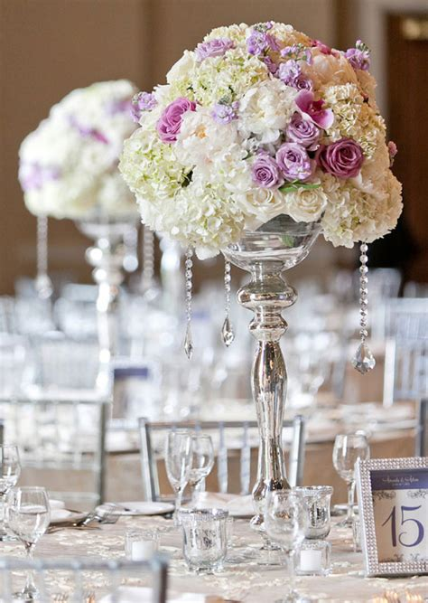 Silver Wedding Theme Archives Weddings Romantique Wedding Reception Centerpieces