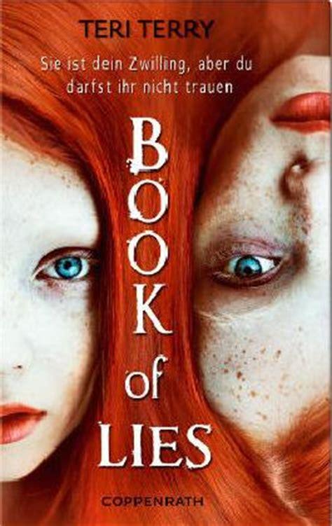 Book Of Lies by Book Of Lies Teri Terry Bei Lovelybooks Jugendbuch