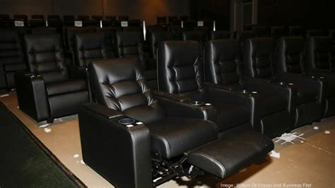 movie with reclining seats baxter avenue theatres debuts latest round of renovations