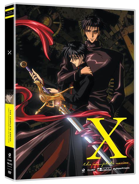 X Anime Tv Series by X Tv Series Complete Series Dvd Anime Classics