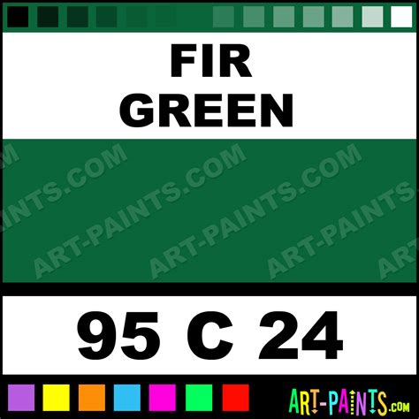 fir green fir green oil 24 set pastel paints 95 c 24 fir green