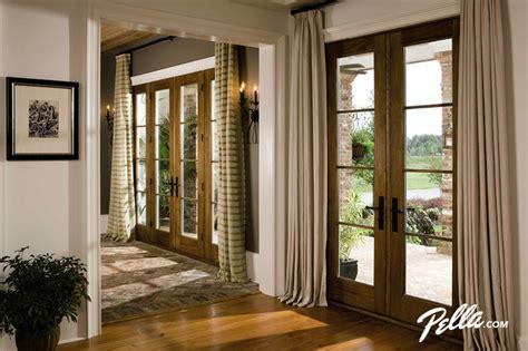 Pella Hinged Patio Doors Pella 174 Architect Series 174 Hinged Patio Doors Convey Warmth Traditional Entry Cedar Rapids