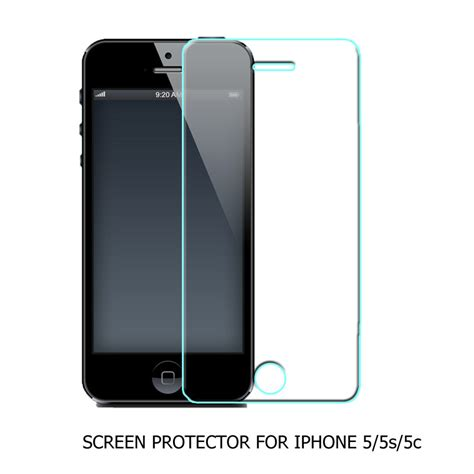 Iphone 5 5s Tempered Glass Screen Protector Anti Gores Kaca aliexpress buy 200pcs 0 3mm premium hd clear anti scratch tempered glass screen protector