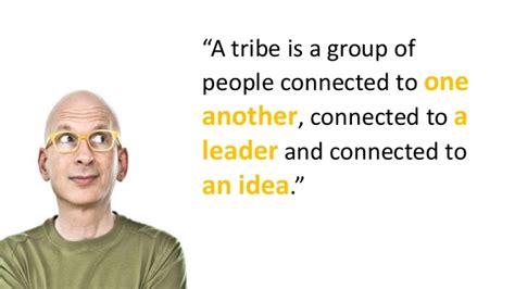 Alternative Mba Program Seth Godin by A Visual Summary Of The Book Tribes By Seth Godin