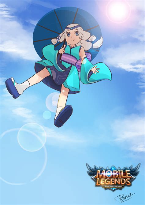 tutorial kagura mobile legend kagura mobile legends by bunsarts on deviantart