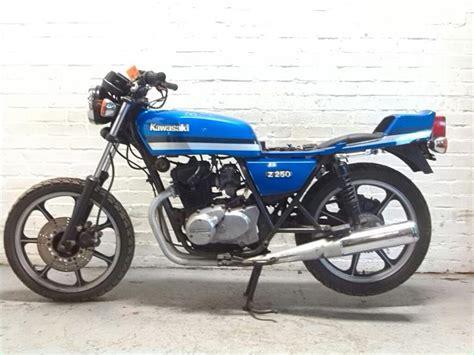Sparepart Kawasaki Z250 1981 kawasaki z250 a3 road petrol manual breaking