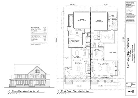 floor plan elevation house designs newbury