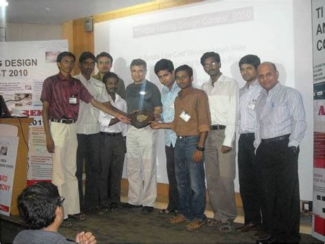 ti analog design contest europe it madras and kalasalingam university win texas