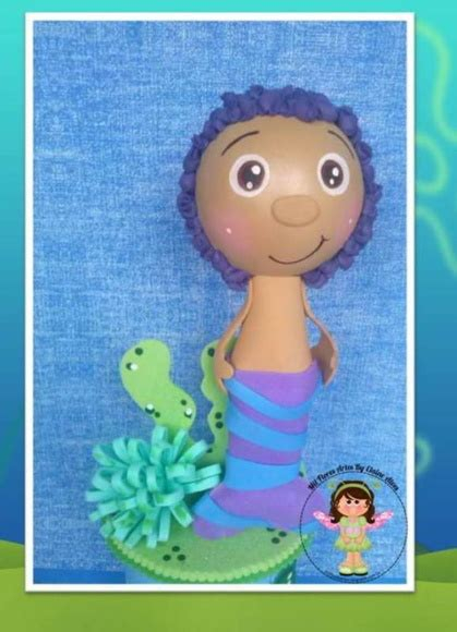 goby bubble guppies mil flores artes elo7