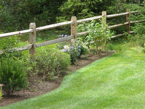 post and rail fencing design installation boston malone fence company salem ma gardens