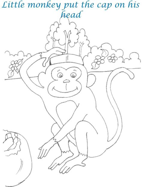 Caps For Sale Coloring Pages Caps For Sale Coloring Page