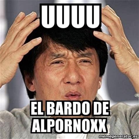 meme jackie chan uuuu el bardo de alpornoxx 20207903