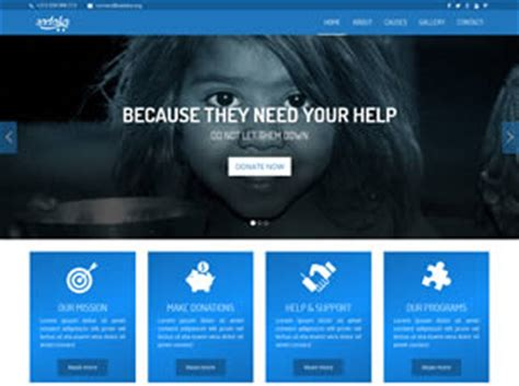 Sadaka 1 0 Free Website Template Free Css Templates Free Css Best B2b Website Templates