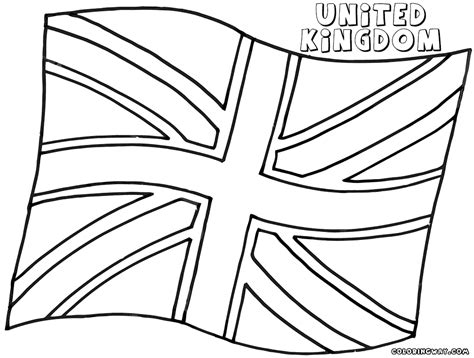 coloring page united kingdom flag flag coloring pages coloring pages to