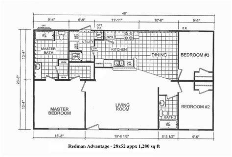 iseman homes floor plans 34 1154 470 28x52 redman advantage