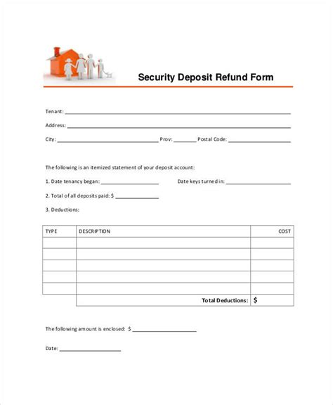 key deposit receipt template 35 receipt forms