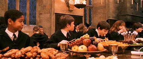 Eats Chow Like Harry Potter by Food In Finding Safe Spaces In Fiction Write