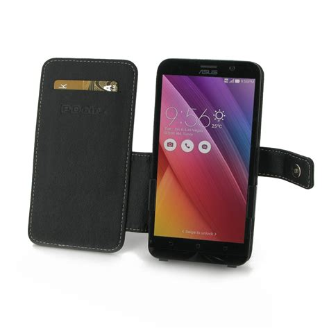 Best Flipcover Asus Zenfone 2 asus zenfone 2 leather flip cover pdair wallet sleeve pouch holster