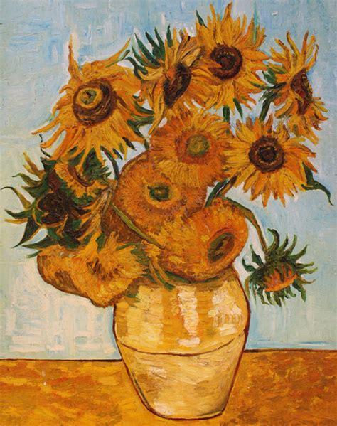 vaso girasoli gogh vaso con dodici girasoli copia di gogh di atelierdangelone