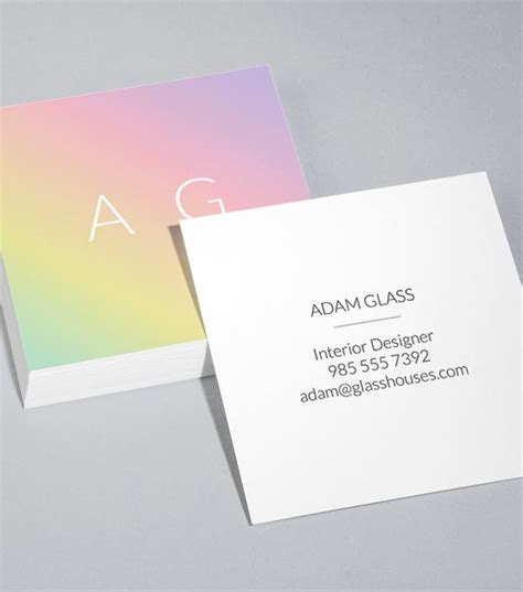 moo cards template browse square business card design templates
