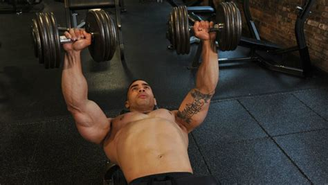 ultimate warrior bench press the warrior fit workout chest muscle fitness