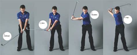 back swing what starts the backswing and the downswing swingstation